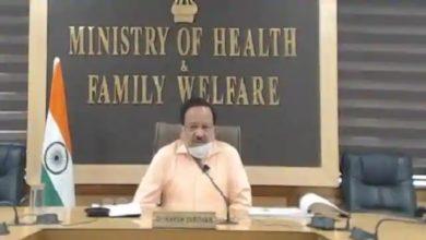 Photo of Union Health Minister : स्वास्थ्यमंत्री हर्षवर्धन ने कहा, लॉकडाउन से पहले 3 दिन में डबल आज 13 दिन में डबल हो रहे कोरोना केस