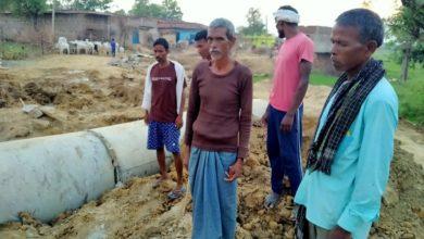 Photo of पलामू : सड़क व पुलिया निर्माण कार्य में भारी अनियमितता