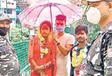 Photo of अनूठा विवाह : भारत का दूल्हा-नेपाल की दुल्हन और 12 मिनट में हो गई शादी